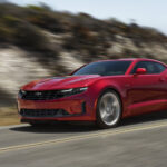2020 Chevy Camaro Competition Arrival Spy Shoot