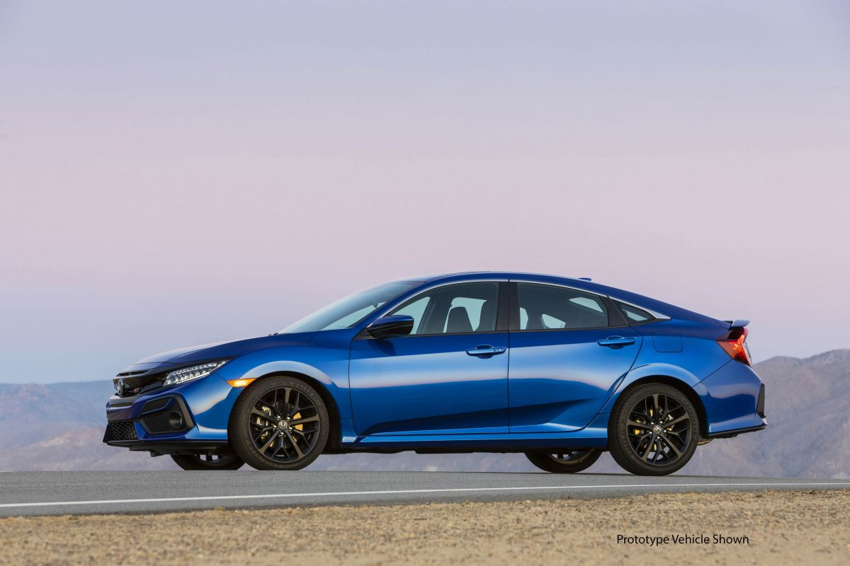 2020 Honda Civic Si Sedan Innere