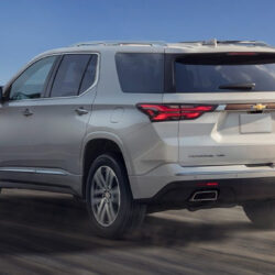 2021 Chevy Traverse Spy Shoot