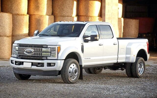 2021 Ford Super Duty Modell