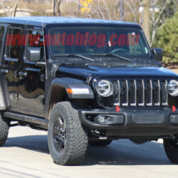 2021 Jeep Wrangler Spy Shoot