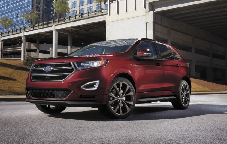 Ford Edge New Design Fotos